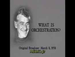 Embedded thumbnail for Bernstein: Hòa nhạc cho giới trẻ - Phối khí là gì?