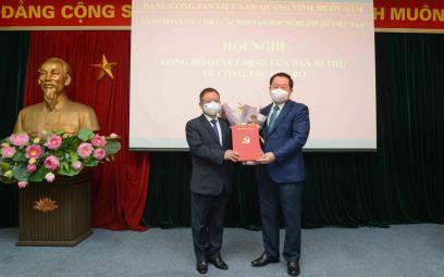 Nhạc sĩ Đỗ Hồng Quân giữ chức Bí thư Đảng đoàn và Chủ tịch Liên hiệp các Hội Văn học Nghệ thuật Việt Nam