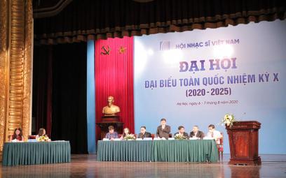 Khai mạc Đại hội Đại biểu toàn quốcHội Nhạc sĩ Việt Nam Nhiệm kỳ X