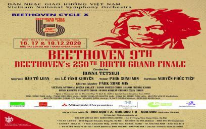 Dàn nhạc Giao hưởng Việt Nam: Kỷ niệm 250 năm ngày sinh Beethoven
