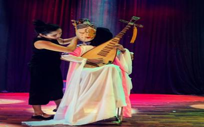 Tiếng đàn tỳ bà trong vở thân phận nàng Kiều