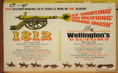 """Overture """"Năm 1812"""", giọng Mi giáng trưởng, Op. 49"""