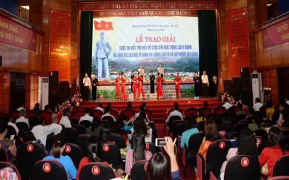Trao giải cuộc thi sáng tác ca khúctại Lạng Sơn