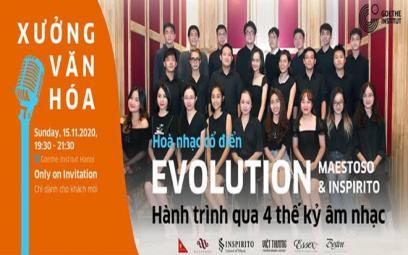 """Hòa nhạc cổ điển """"Evolution - Hành trình qua 4 thế kỷ âm nhạc"""""""