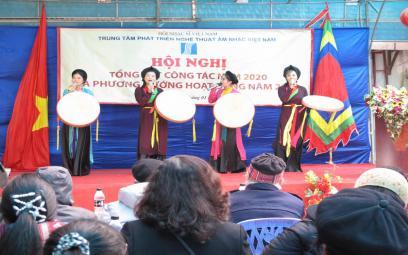Hội nghị tổng kết công tác năm 2020Trung tâm phát triển nghệ thuật Âm nhạc Việt Nam
