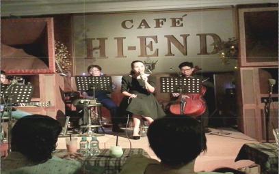 Sài Gòn cà phê nhạc trẻ - Khúc blue mênh mang