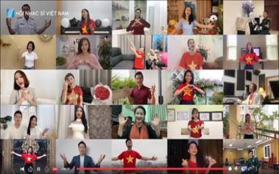"""Ngày Âm nhạc Việt Nam lần thứ XII (3/9/2021): """"Tiếng hát át Covid"""""""