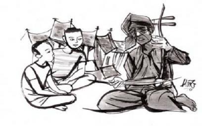 Câu chuyện xót thương về ông tổ nghề hát xẩm Trần Quốc Đĩnh