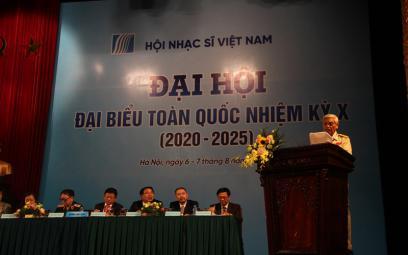 Đại hội Đại biểu toàn quốc Hội Nhạc sĩ Việt Nam Nhiệm kỳ X (2020-2025): Chùm ảnh 15
